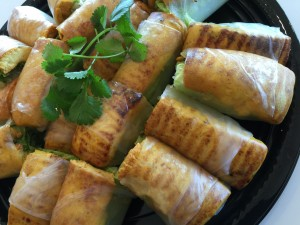 Tofu Spring Rolls (Vegan)
